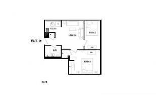 EAST 22ND STREET AND FIRST AVENUE 2 BEDROOM APARTMENT